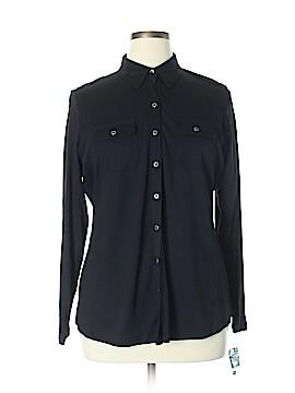 Karen Scott Long Sleeve Blouse Size 0X (Plus)