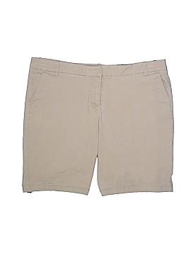 J. Crew Factory Store Khaki Shorts Size 16