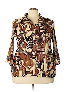 Serenade 3/4 Sleeve Blouse Size 2X (Plus)