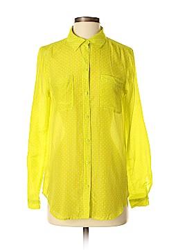 Ann Taylor LOFT 3/4 Sleeve Button-Down Shirt Size S