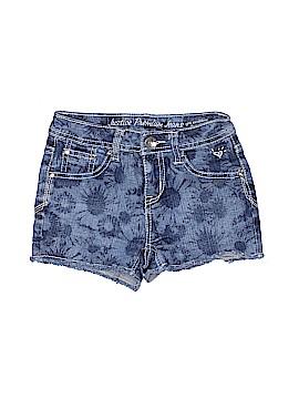 Justice Denim Shorts Size 10