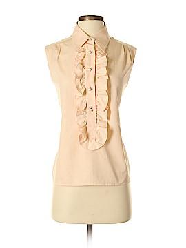 Chanel Sleeveless Button-Down Shirt Size 38 (EU)