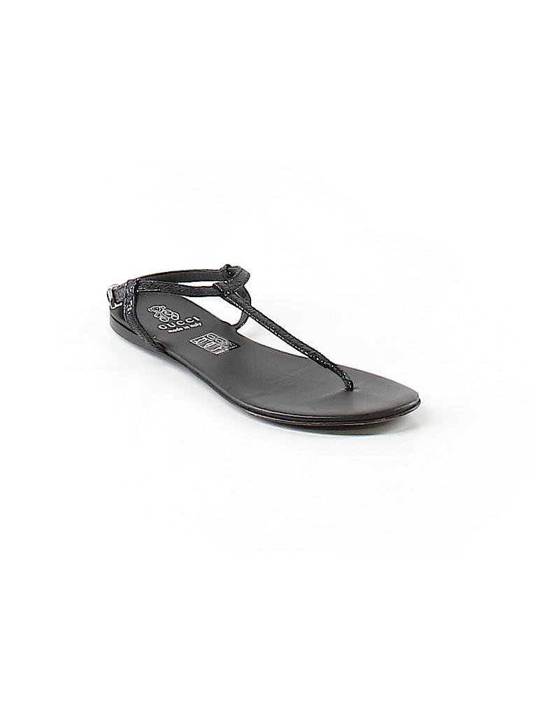 40d2e051a5f9 Gucci Solid Black Sandals Size 33 (EU) - 61% off