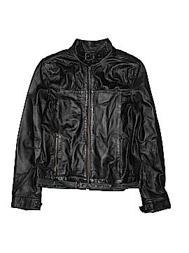 Metro7 Leather Jacket Size 8