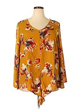 Oddi Long Sleeve Blouse Size 1X (Plus)