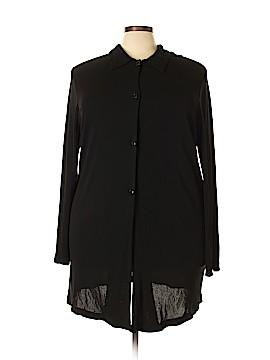 Karen Kane Long Sleeve Blouse Size 3X (Plus)