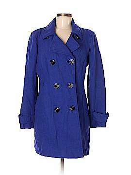 Anne Klein Wool Coat Size M