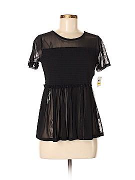 Bar III Short Sleeve Blouse Size M