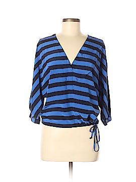 BCBGMAXAZRIA 3/4 Sleeve Silk Top Size XS