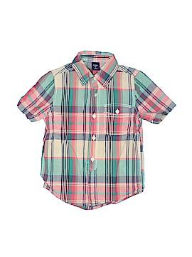 Baby Gap Short Sleeve Button-Down Shirt Size 4
