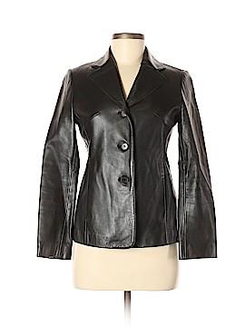 DKNY Leather Jacket Size 2