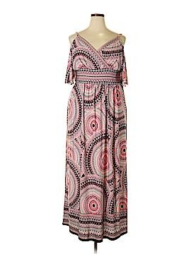 London Times Casual Dress Size 1X (Plus)