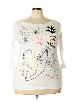 Venezia 3/4 Sleeve T-Shirt Size 18 - 20 Plus (Plus)