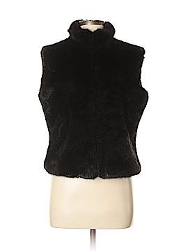 Cejon Faux Fur Vest Size M