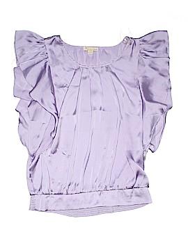 Rue Twenty One Style Short Sleeve Blouse Size L