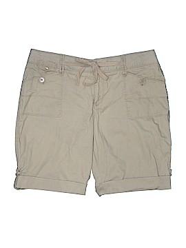 Fashion Bug Khaki Shorts Size 16