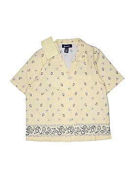Denim Co Short Sleeve Button-Down Shirt Size M