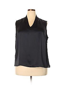 Talbots Short Sleeve Silk Top Size 20 (Plus)