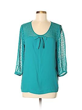 Hinge 3/4 Sleeve Blouse Size M