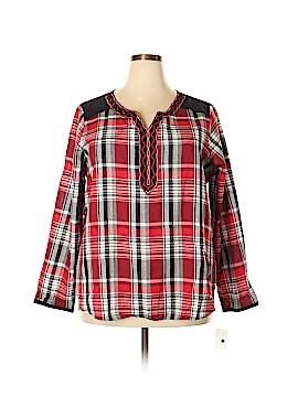 Rebecca Malone Long Sleeve Blouse Size 2X (Plus)
