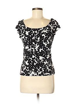 Chaps Short Sleeve Blouse Size M