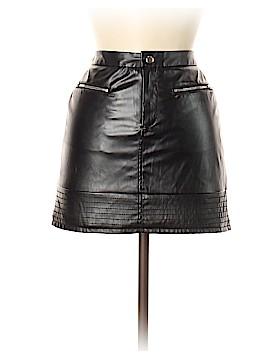 Victoria's Secret Faux Leather Skirt Size 6