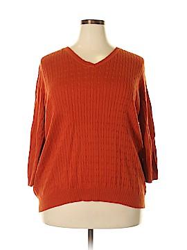 Kim Rogers Signature Pullover Sweater Size 1X (Plus)