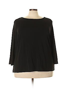 Talbots 3/4 Sleeve Blouse Size 3X (Plus)
