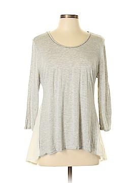 Jennifer Lopez 3/4 Sleeve Top Size L