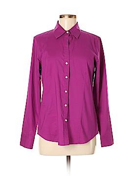 PaperWhite Long Sleeve Button-Down Shirt Size 8