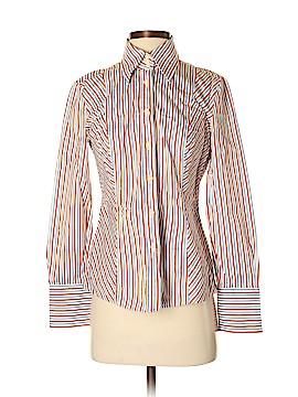 H Hilfiger Long Sleeve Button-Down Shirt Size 6