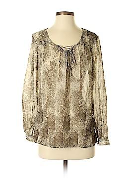 Daisy Fuentes Long Sleeve Blouse Size XS