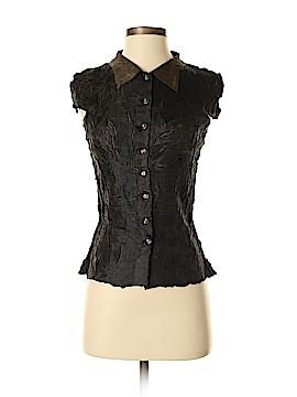 WD.NY Short Sleeve Blouse Size S