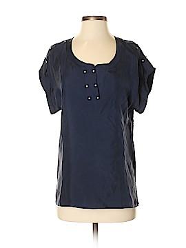 Barneys New York Short Sleeve Blouse Size S