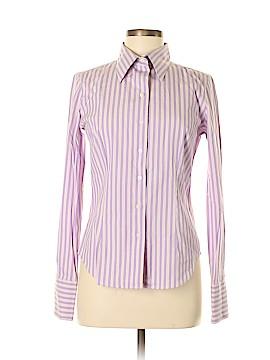 Audrey Talbott Long Sleeve Button-Down Shirt Size S