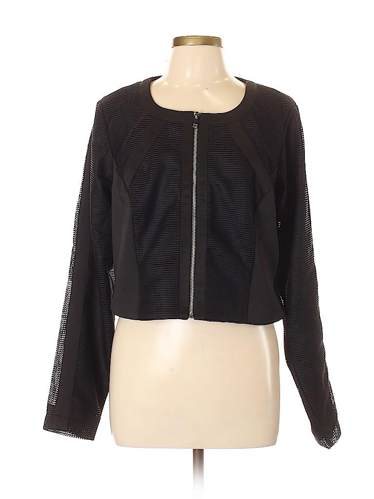 City Chic Women Jacket Size 16 Plus (S) (Plus)