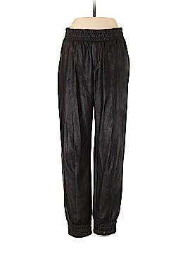 Club Monaco Faux Leather Pants Size 0