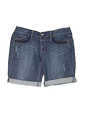 White House Black Market Denim Shorts Size 10