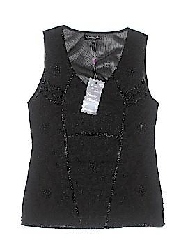 Pretty Angel Sleeveless Silk Top Size Sm - Med