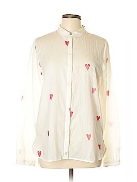 Scotch & Soda Long Sleeve Button-Down Shirt Size L