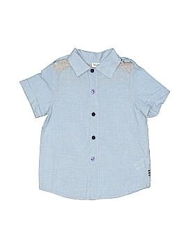 Splendid Short Sleeve Button-Down Shirt Size 4/5