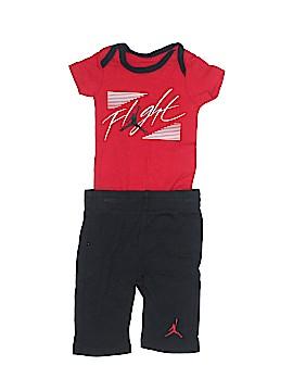 Air Jordan Short Sleeve Outfit Size 0-3 mo