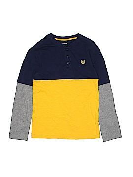 Chaps Long Sleeve Henley Size 10 - 12