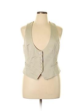 New York & Company Tuxedo Vest Size 16