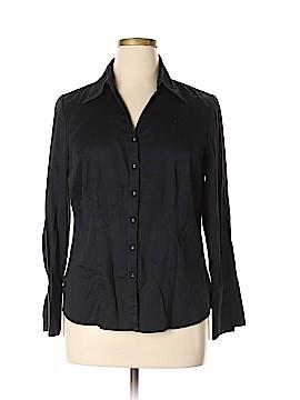 Lane Bryant Long Sleeve Button-Down Shirt Size 14-16 Plus (Plus)