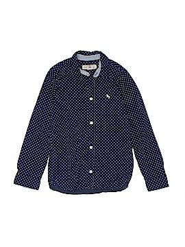 H&M Long Sleeve Button-Down Shirt Size 8/9