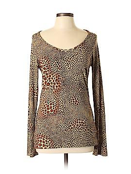 Norma Kamali Long Sleeve T-Shirt Size L
