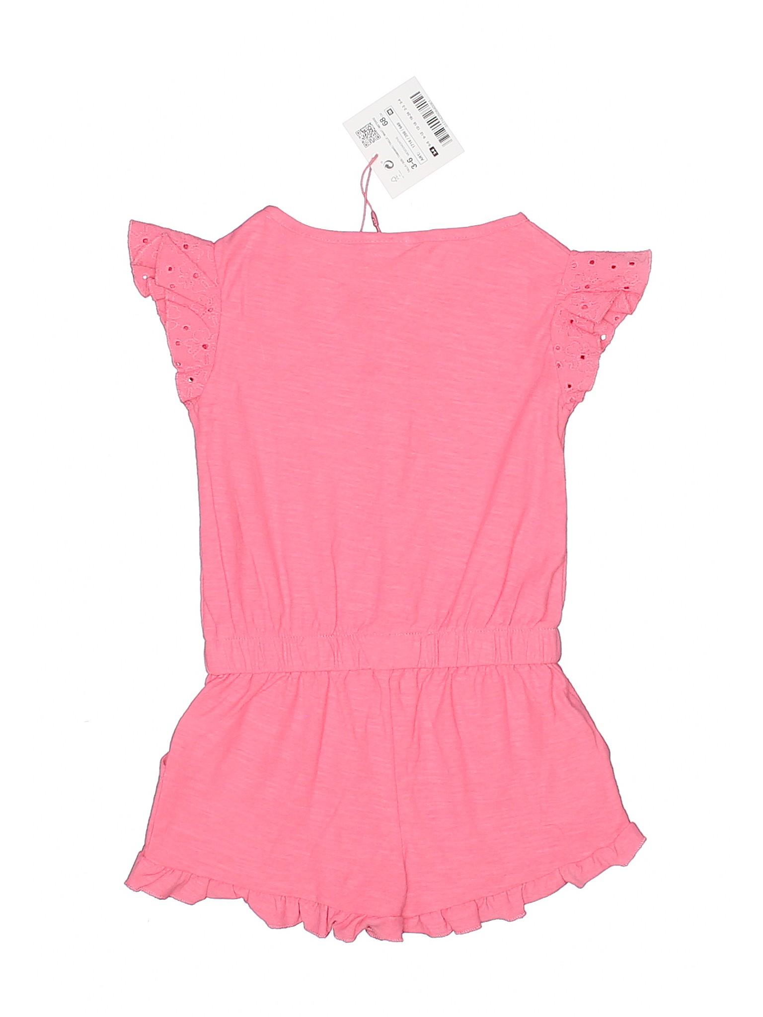 71ebcd68b0ba Zara 100% Cotton Solid Pink Romper Size 3-6 mo - 73% off