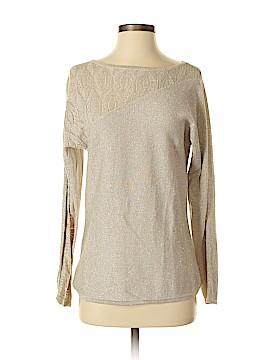 Adrienne Vittadini Long Sleeve Top Size S