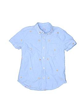Crewcuts Short Sleeve Button-Down Shirt Size 8